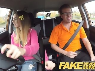 Dark-hued damsel gets packed with milky jizm check out a driving duty pornvideo