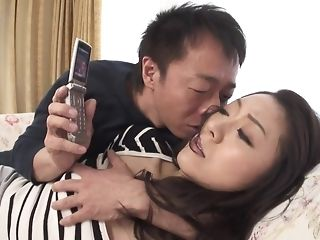 Appetizing chinese hotty gets wooly snatch frigged increased by played coitus flick