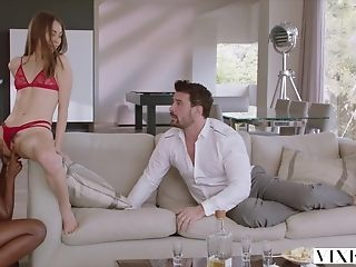 Xantippe Riley Reid has operative 3 in like manner with Ana Foxxx and bf