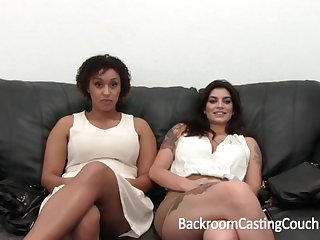 Outstanding Bi-Racial Renowned Glad eye 3Some Audition