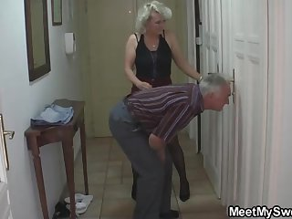 Mature blondie gal and her strange neighbors are constantly gathering up and tearing up not unlike ultra-kinky